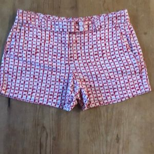 Vineyard Vines - Red/White Shorts Sz 6